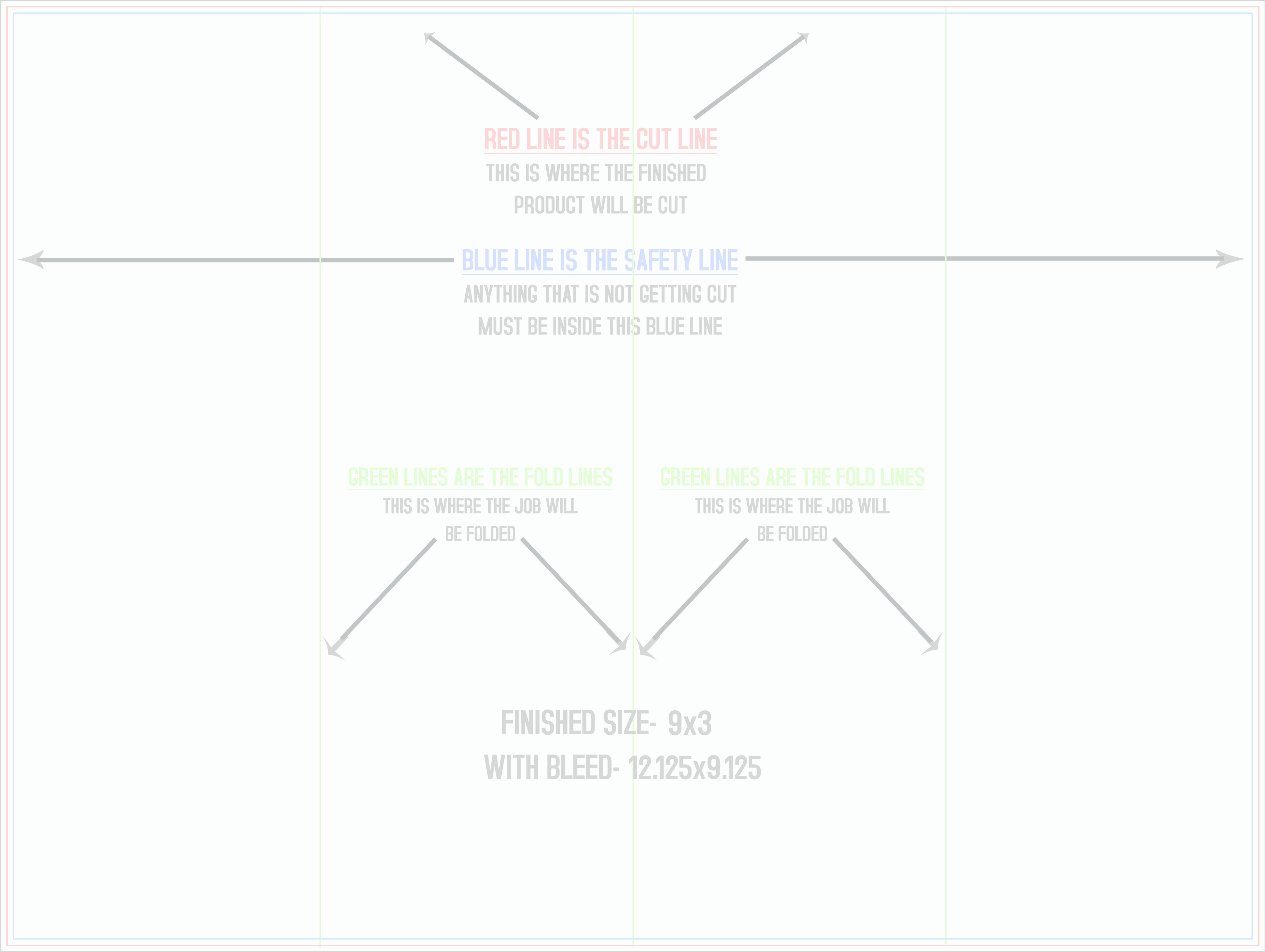 Flyers Brochures - Accordion fold brochure template