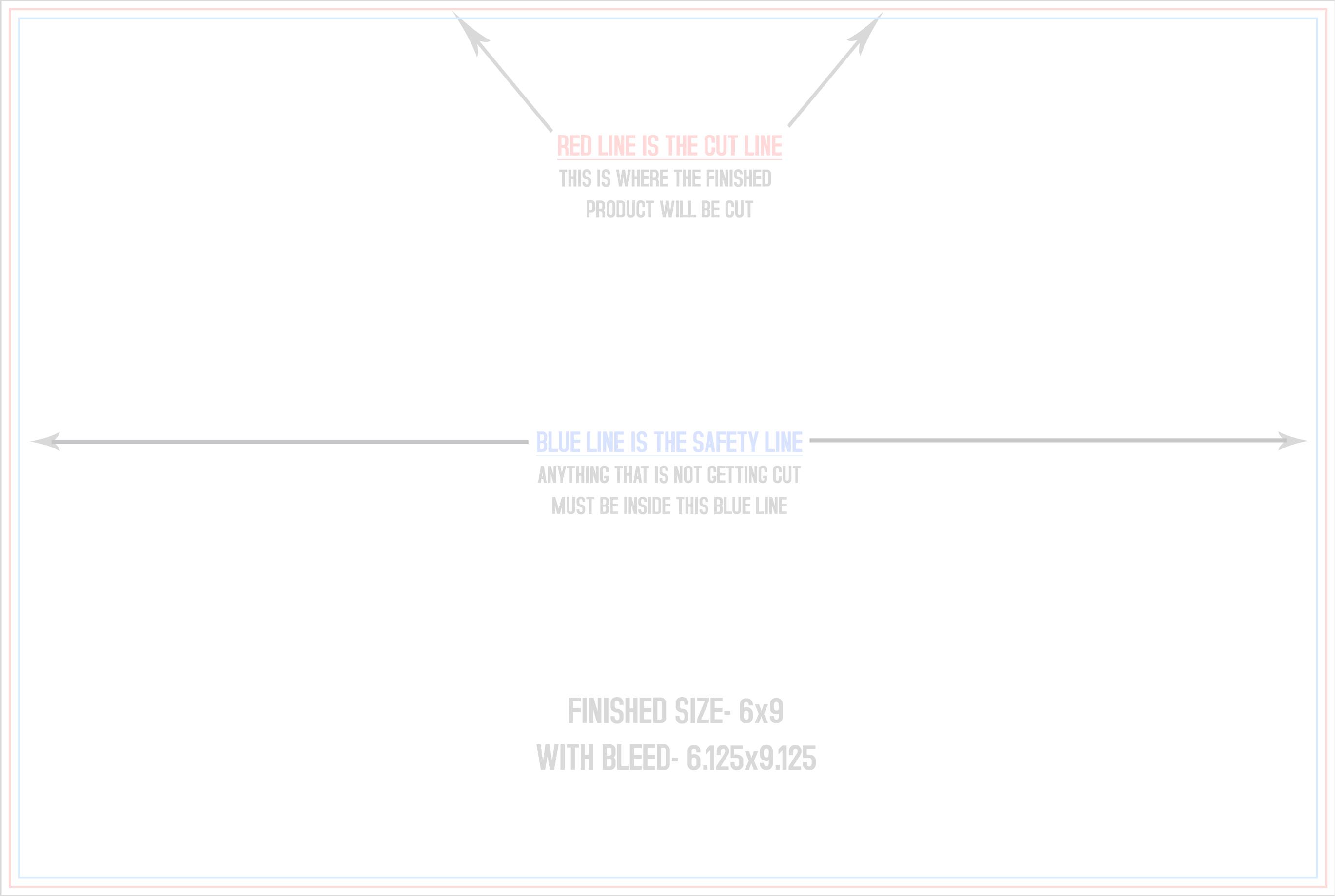 Postcard Templates - 6x9 postcard template